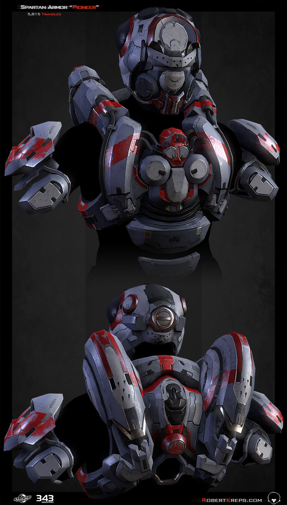 Robert Kreps - Gallery - Halo 4 - Pioneer Armor