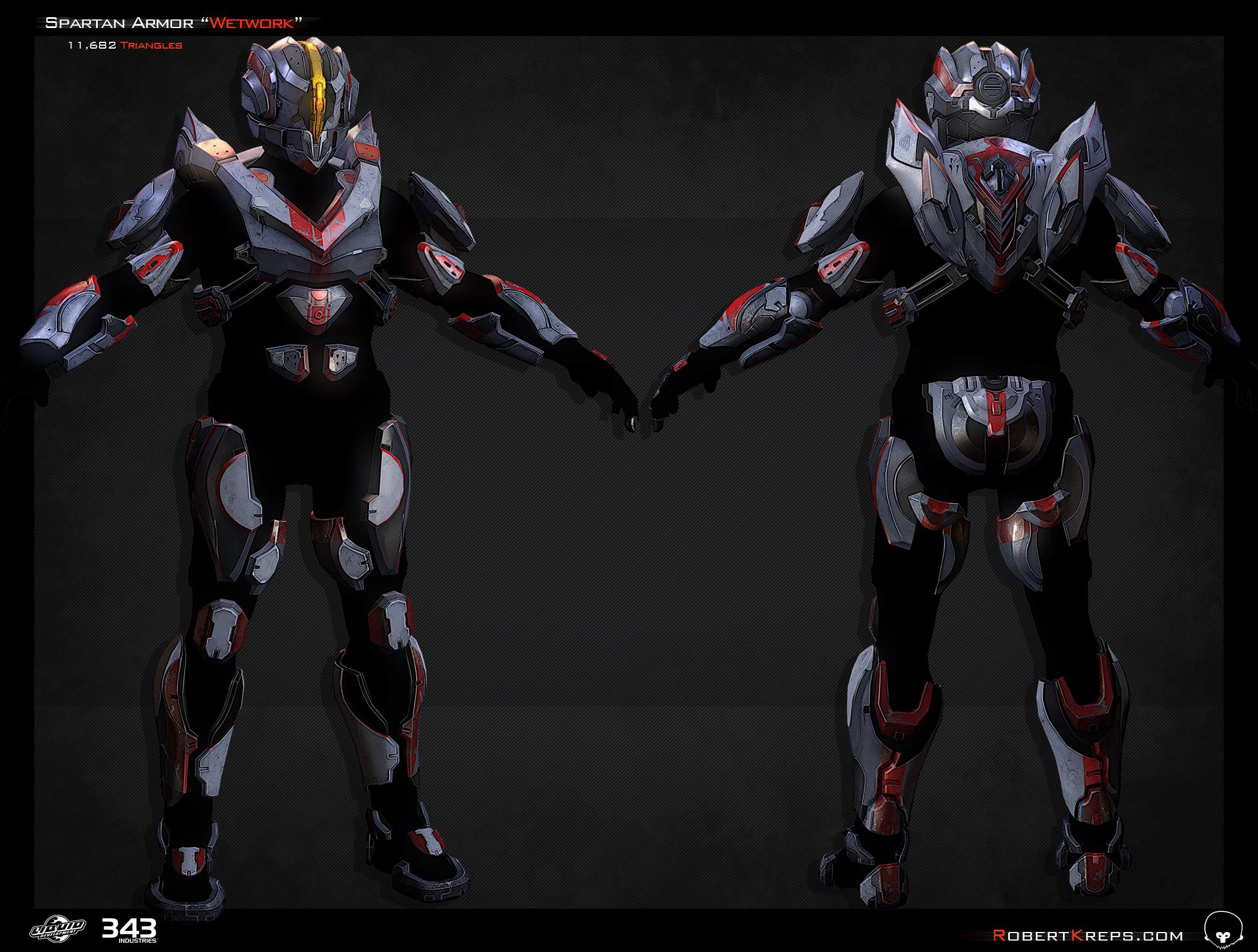Robert Kreps - Gallery - Halo 4 - Wetwork Armor